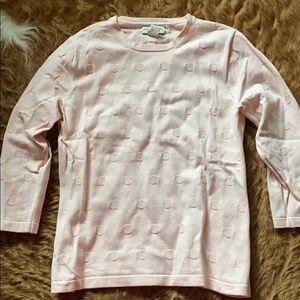 Banana Republic long sleeved pink top